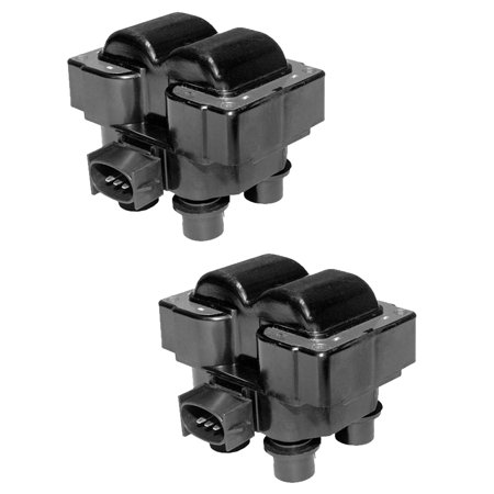 Set of 2 Ignition Coils For 1989-1997 Ford Ranger 2.3L L4 Compatible with FD487 C924 ()