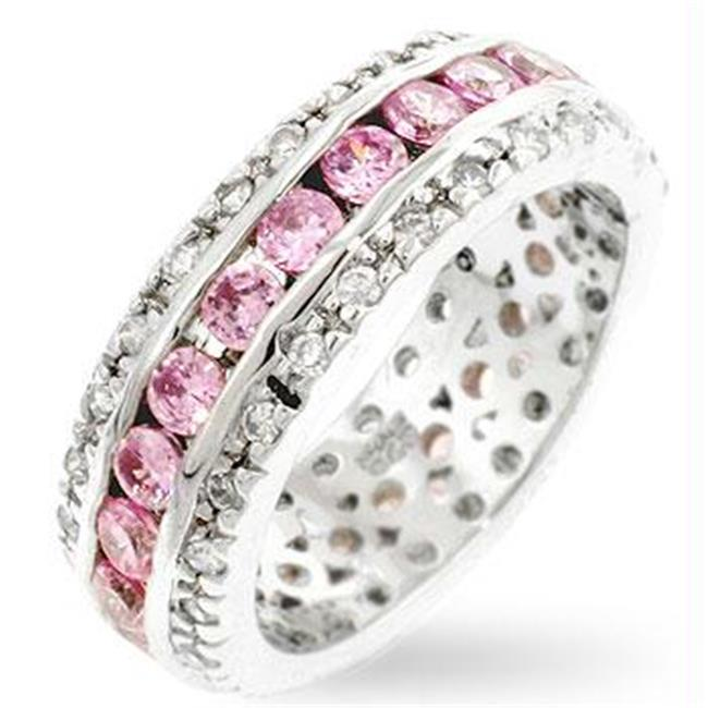 Soft Pink Eternity Band, <b>Size :< b> 08 by Kate Bissett