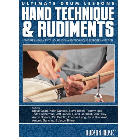 Hand Technique & Rudiments (Hand Bass Techniques Dvd)