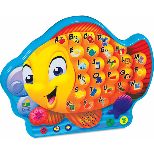 The Learning Journey Touch and Learn Series, Alphabet Fish