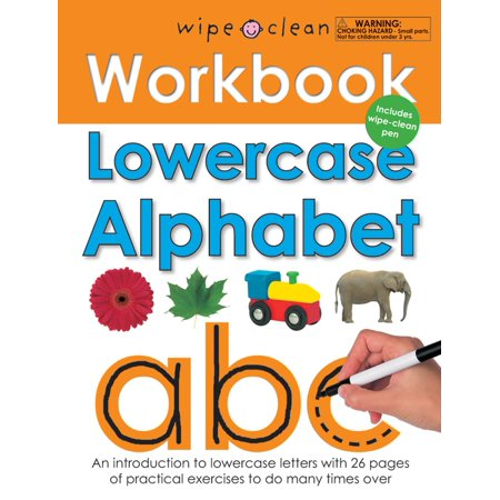 Wipe Clean Workbook Lowercase Alphabet](Halloween Alphabet Books)