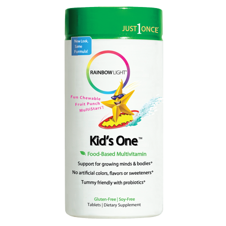 Rainbow Light Kids One Chewable Multivitamin & Mineral 90 Tab