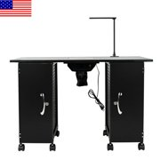 Best Downdraft Vents - NEW Nail Table, Large Steel Manicure Station, Salon Review