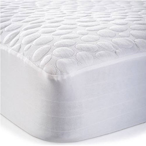My Little Nest Pebbletex Quilted Organic Cotton Waterproof Crib Mattress Pad