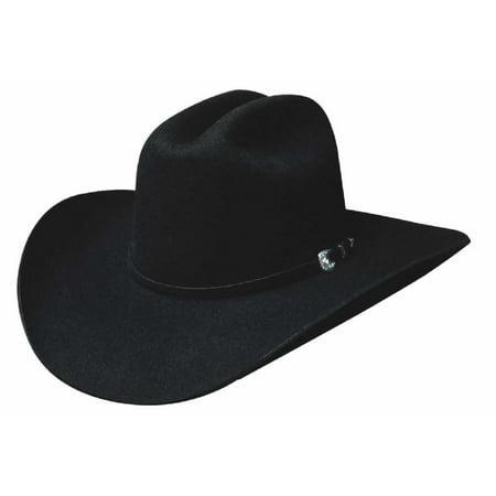Bullhide Hats 0350BL BUCKAROO COLLECTION RUIDOSO 6X Cowboy (Buckaroo Collection)