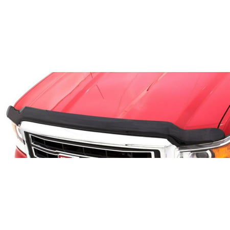 AVS 16-18 Nissan Titan XD High Profile Bugflector II Hood Shield - Smoke