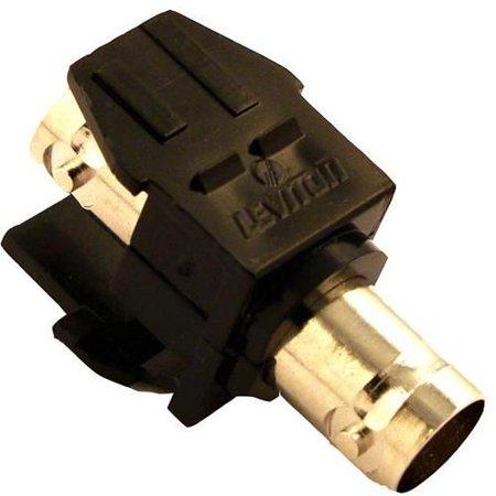 Bnc Module - Leviton HAI 41084-BEF Quickport Bnc Module Black