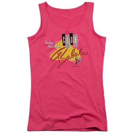 I Love Lucy Club Babalu Juniors Tank Top Shirt