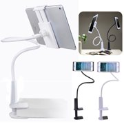 360 Flexible Table Stand Mount Lazy Holder For iPhone X Samsung Phones iPad 2 3 4 Black