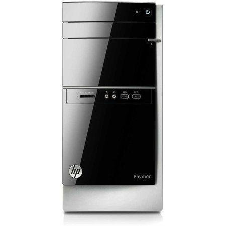 Refurbished HP Black Pavilion 500-270 Desktop PC with Intel Core i3-4130 processor, 8GB Memory, 1TB Hard Drive and Windows 8.1 (Monitor Not Included) (Eligible for Free Windows 10 Upgrade)