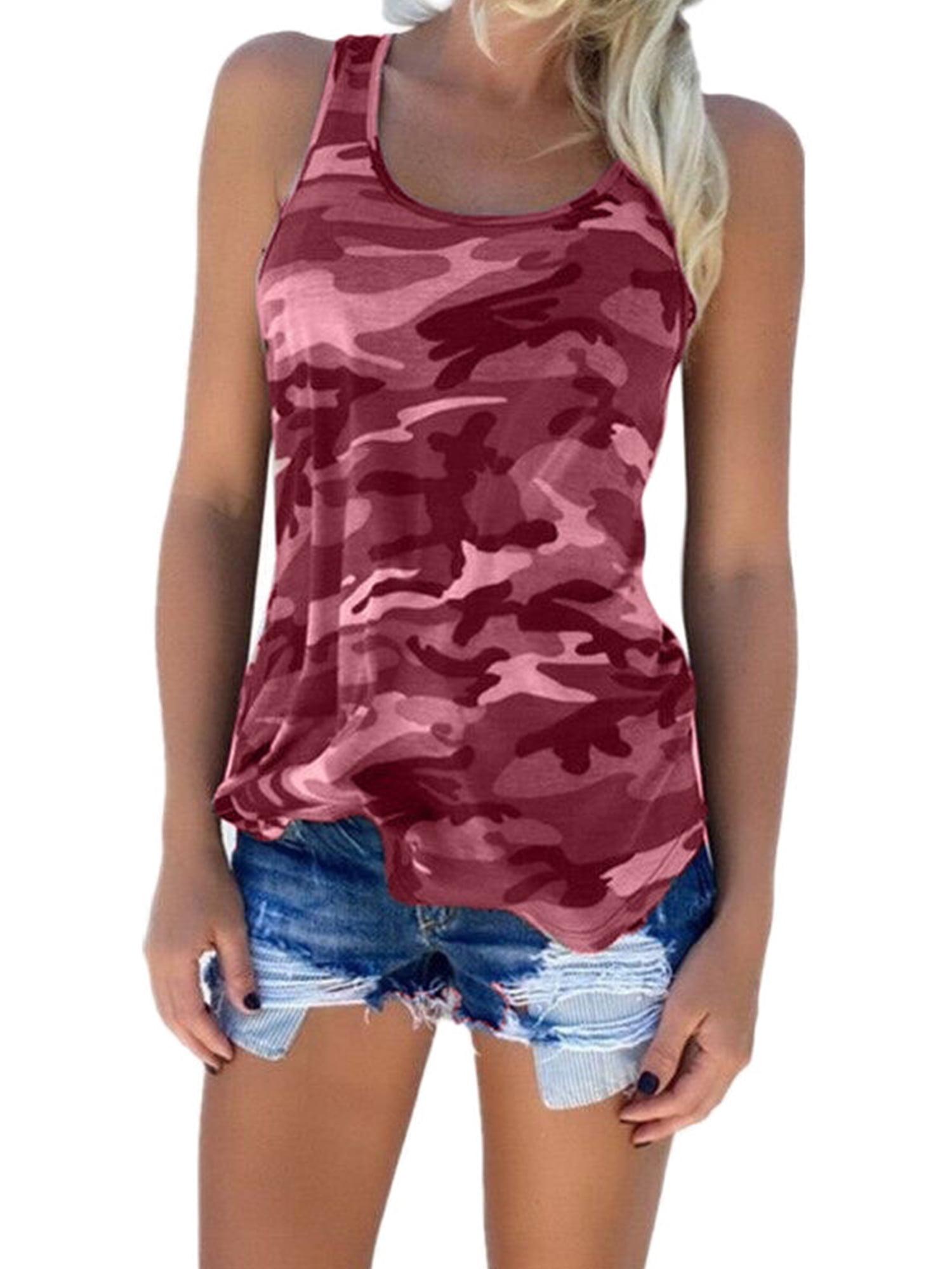 Men/'s tank top Lady Luck pin up girl army digital camo design tee shirt