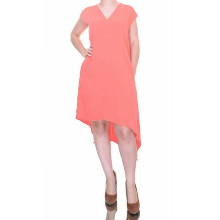 Rachel Roy Campari Dress Short Sleeve Size S Nwt   Movaz