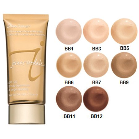 Jane Iredale Glow Time Full Coverage Mineral BB Cream, BB5 Medium, 1.7 -