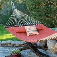 Island Bay 13 ft. Sienna Diamond Stitch Quilted Double Hammock