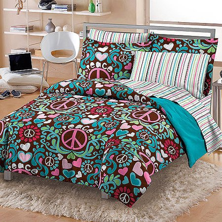 My Room Lucy Complete Bed In A Bag Bedding Set Pink Multi