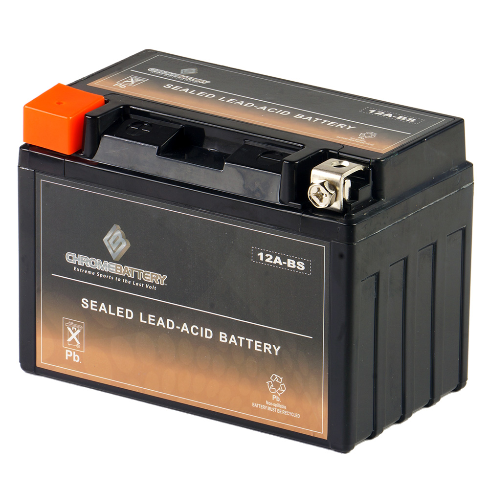 YTX12A-BS High Performance -Maintenance Free- Sealed AGM Motorcycle Battery