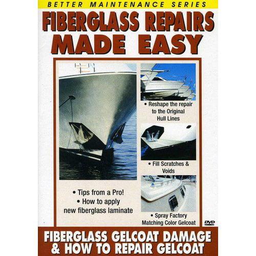Fiberglass Repair 1 and 2 (How to Repair Gelcoat and Gelcoat DaMage) by