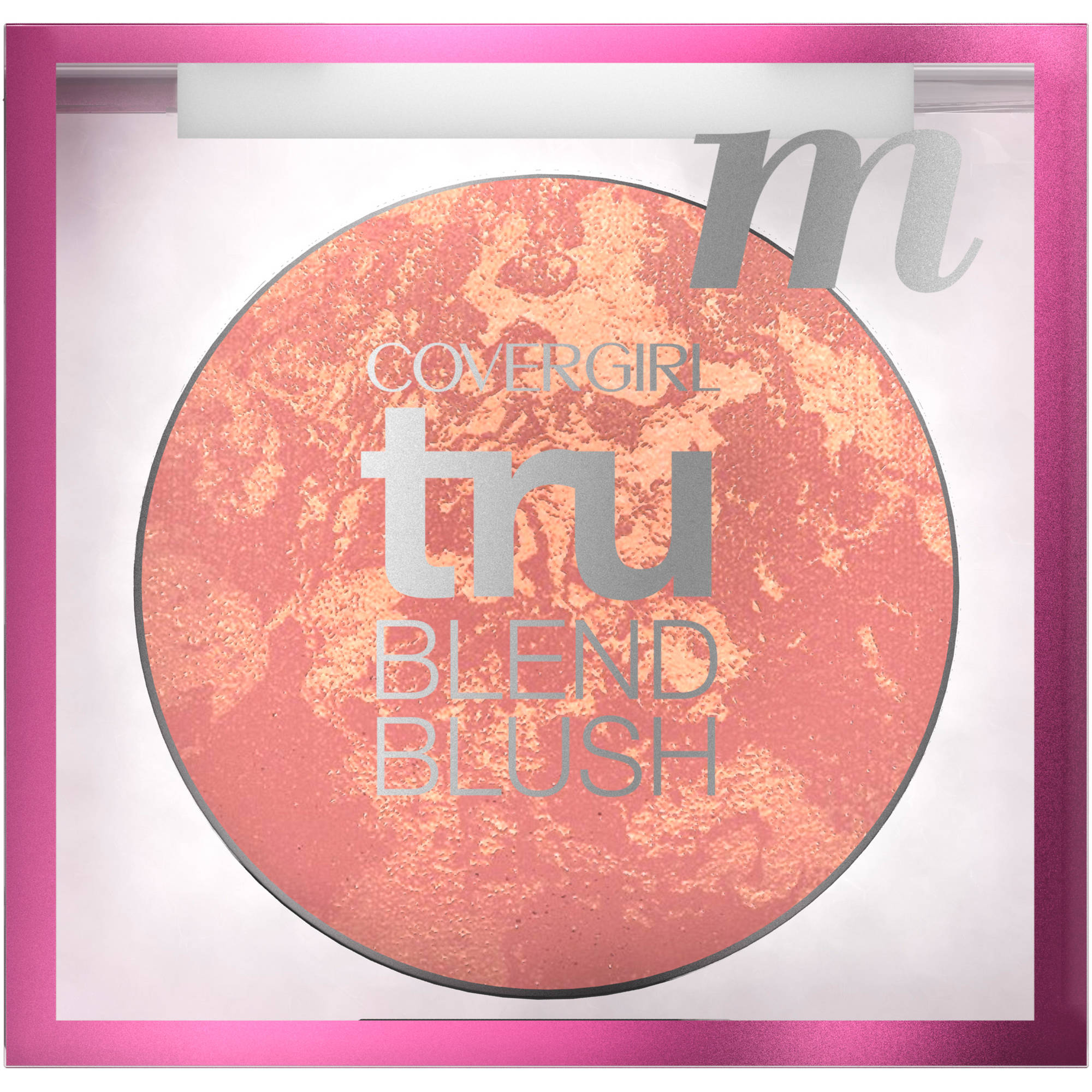 COVERGIRL truBlend Baked Powder Blush, Medium Rose, .1 oz