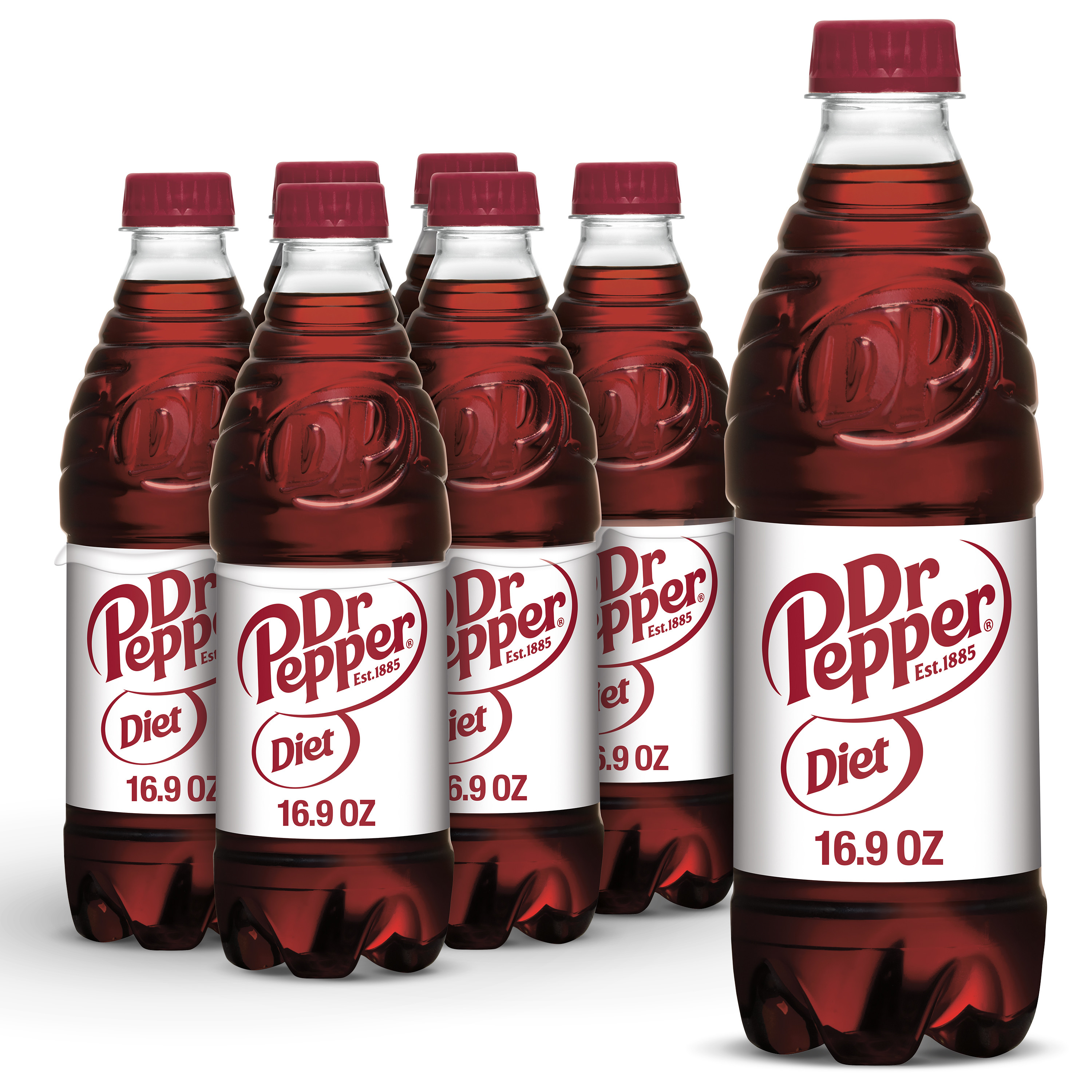 what size does diet dr pepper bottles have