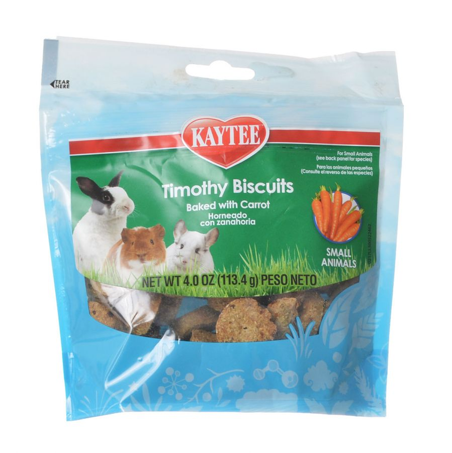Kaytee Timothy Hay Baked Treat - Carrot 4 oz - Pack of 2