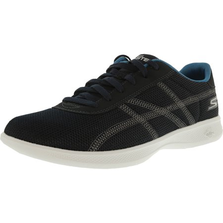 Skechers Women's Go Step Light Persistance Navy / Teal Ankle-High Running Shoe - 6.5M