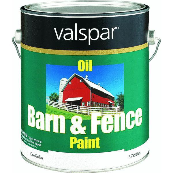 Valspar Oil Paint Amp Primer In One Low Sheen Barn Amp Fence