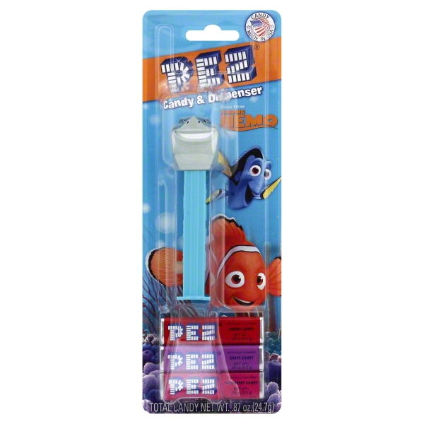 Finding Nemo Pez Dispenser and Candy Set (Each) - Party Supplies