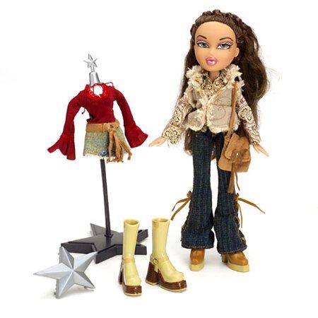Mga entertainment bratz style it yasmin doll set with Bratz fashion look and style doll