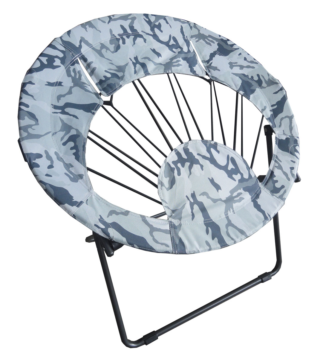 Attrayant Bungee Chair Folding Round Steel Frame Camo