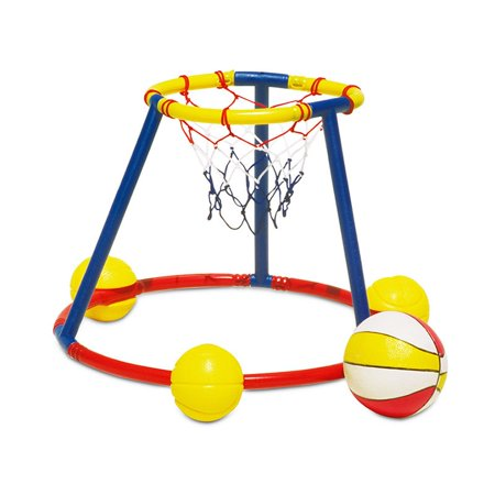 Poolmaster Hot Hoops Floating Basketball Game for Swimming (Glass Float Ball)