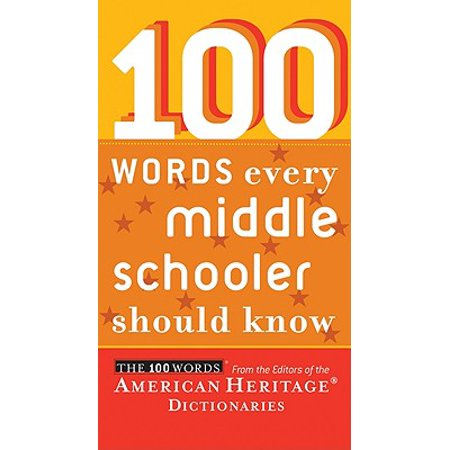 100 Words Every Middle Schooler Should - Halloween Word Games Middle School