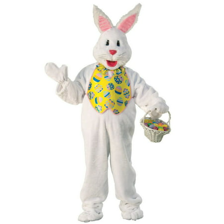 Easter Bunny Adult Mascot Costume](Animal Mascot Costumes)