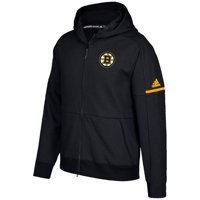 Product Image Men s adidas Black Boston Bruins Authentic Pro Squad ID  Full-Zip Hooded Sweatshirt bb9109699