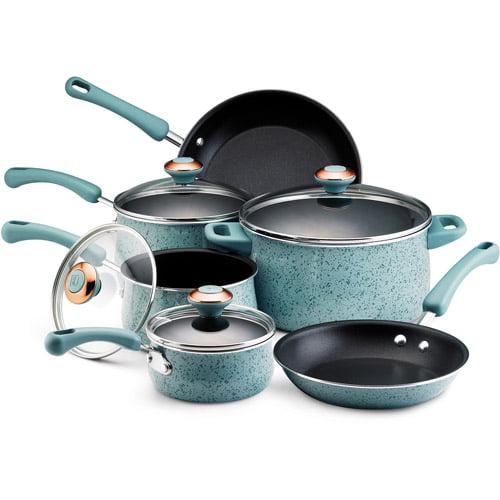 Paula Deen 10-Piece Non-Stick Cookware Set