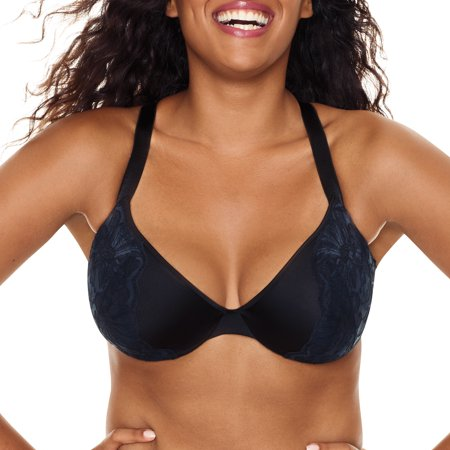Women's Plus Size Embellished Lace Plunge Bra, Style MJ1204