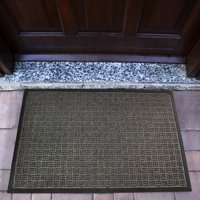 "Doortex Ribmat Charcoal Heavy Duty Door Mat in - 36"" x 60"""