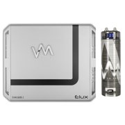 VM Audio EXA1600.1 1600W 1 Channel Amp Car Amplifier + 2.0 Farad Capacitor