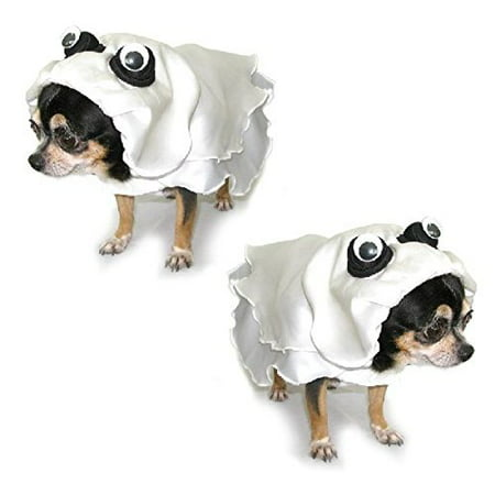 Dog Costume GHOST COSTUMES - Dress Your Dogs Like Scary Ghosts (Size 5)