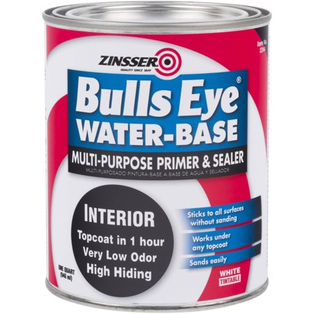 Zinsser Bulls Eye Water-Base Primer Quart