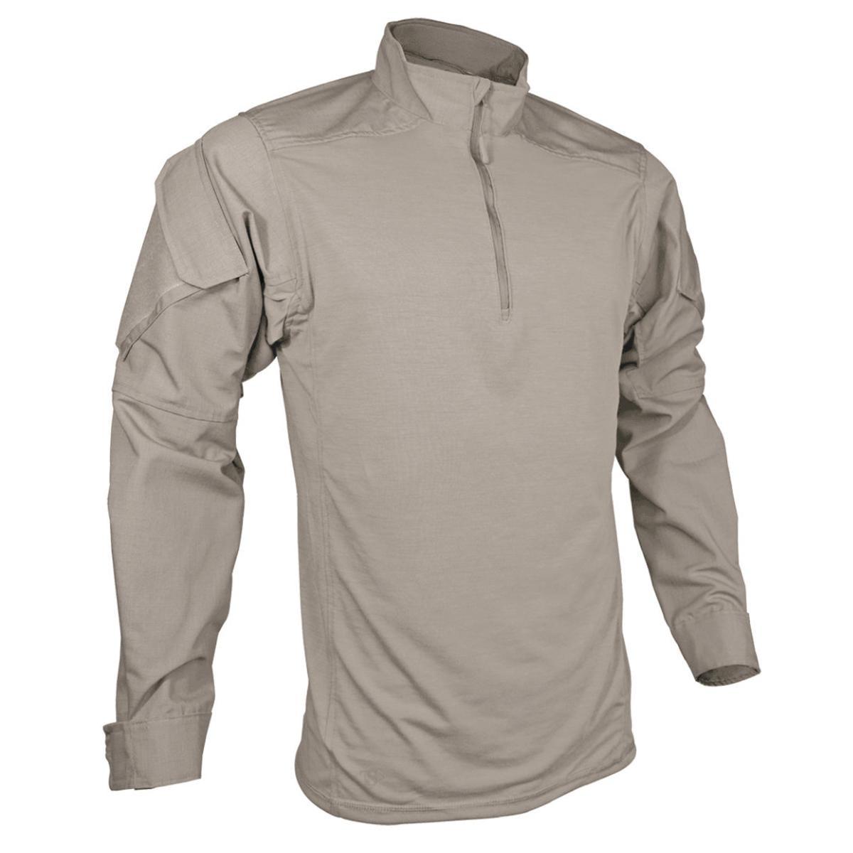 1//4 Zip Combat Shirt Tru-Spec Men/'s T.r.u Choose SZ//color