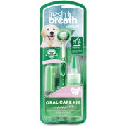 Fresh Breath by TropiClean Puppy Oral Care Kit, 3-1 pack