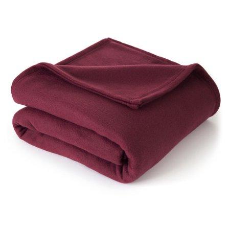 Martex Super Soft Fleece Blanket, Full/Queen Navy