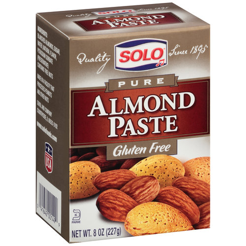 Solo Pure Almond Paste, 8 oz, (Pack of 12)
