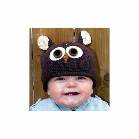 Kids Ozzie The Owl Beanie by Knitwits - A645K