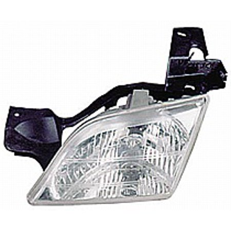 Montanas Flat Head (Go-Parts » 1999 - 2005 Pontiac Montana Front Headlight Headlamp Assembly Front Housing / Lens / Cover - Left (Driver) 10368389 GM2502175 Replacement For Pontiac Montana )