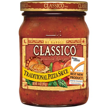 (3 Pack) Classico Traditional Pizza Sauce, 14 oz