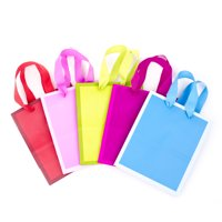Hallmark Small Solid Color Gift Bags (5 Pack)