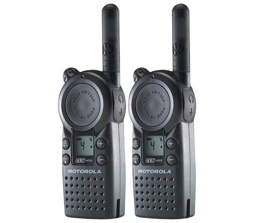 Motorola CLS1410 Professional Two Way Radio (2 Pack) by MOTOROLA