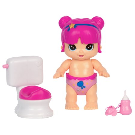 Little Live Bizzy Bubs Baby Play Set, Clever Chloe Potty Time