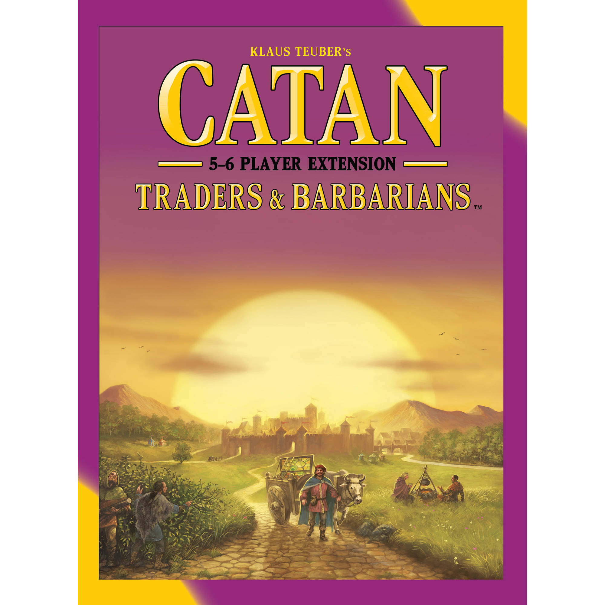Catan Traders and Barbarians 5- and 6-Player Extension 5th Edition